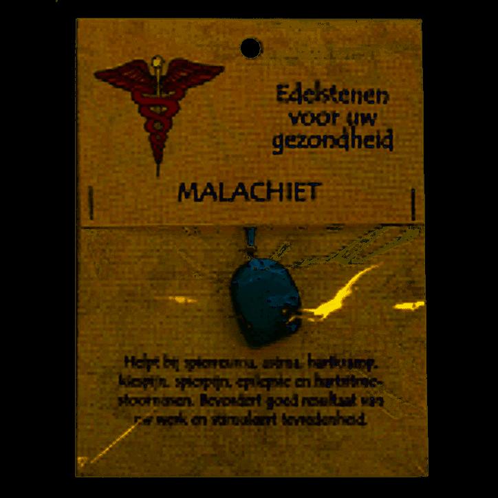Steengoed Gezondheidssteen Malachiet