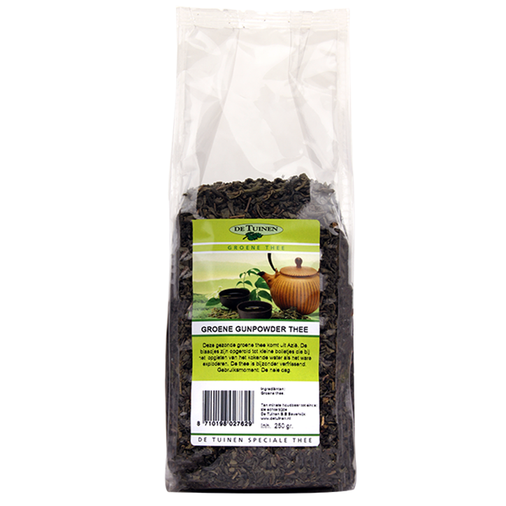 De Tuinen Gunpowder Thee (250gr)