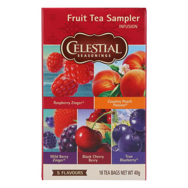 Celestial Seasonings Fruit Sampler