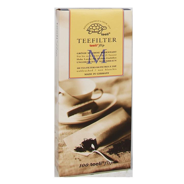 Teeli T-Zak Filters Voor Losse Thee M (100 filters)