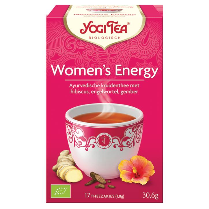 Yogi Tea Women's Energy Bio (17 Theezakjes)