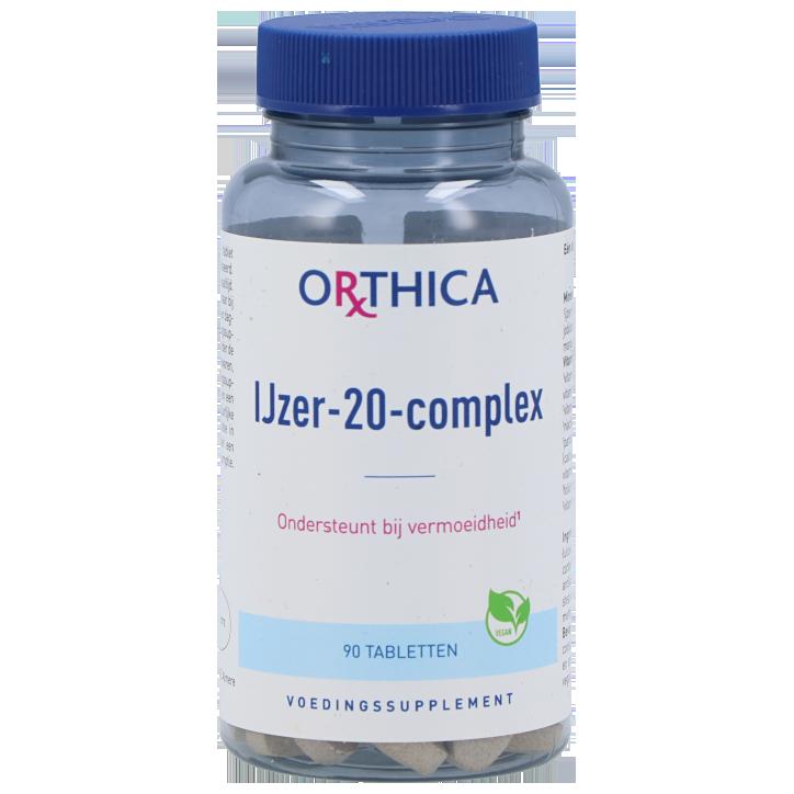 Orthica Ijzer 25 Complex (90 Tabletten)