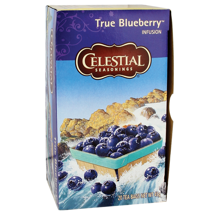 Celestial Seasonings True Blueberry (20 Theezakjes)
