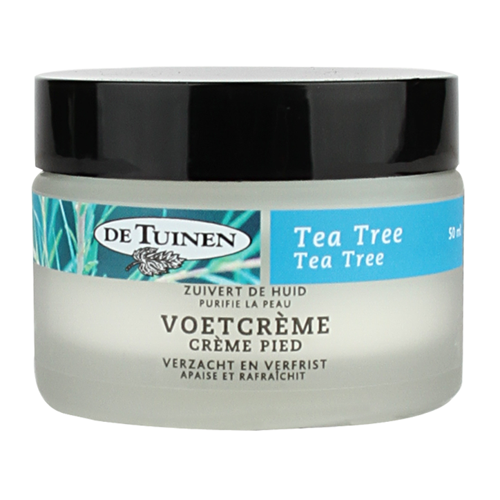 De Tuinen Tea Tree Voetcrème 50ml