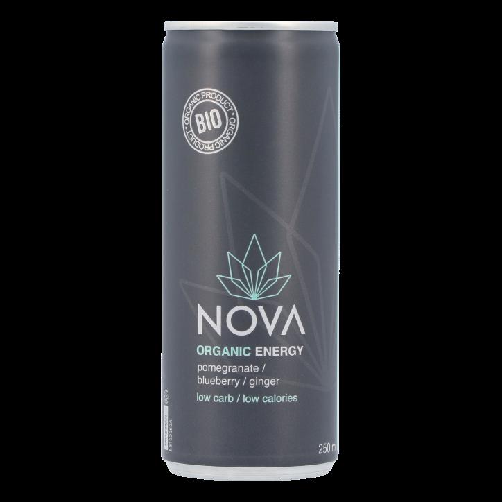 Nova Organic Energy Pomegranate Blueberry Ginger Bio (250ml)