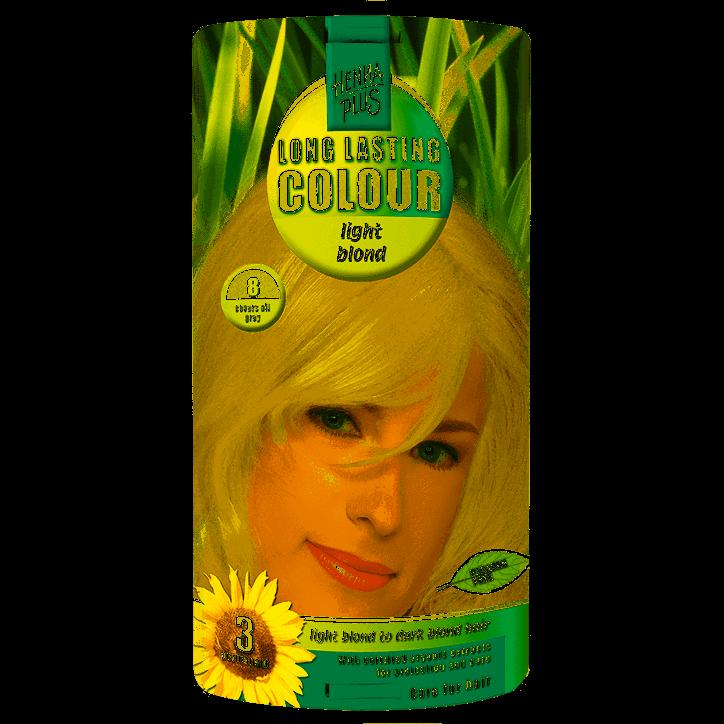 Hennaplus Long Lasting Colour Light Blond 8