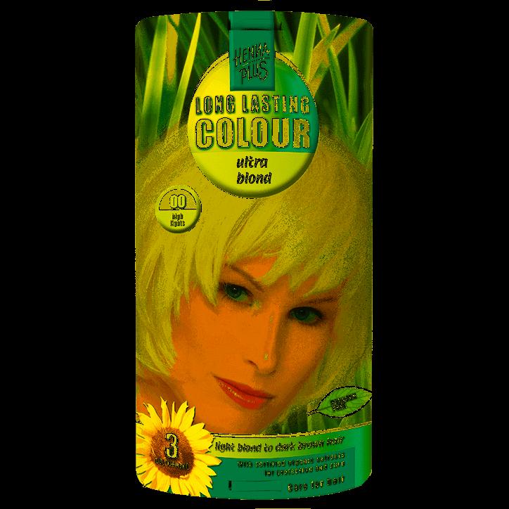 Hennaplus Long Lasting Colour 00 Ultra Blond