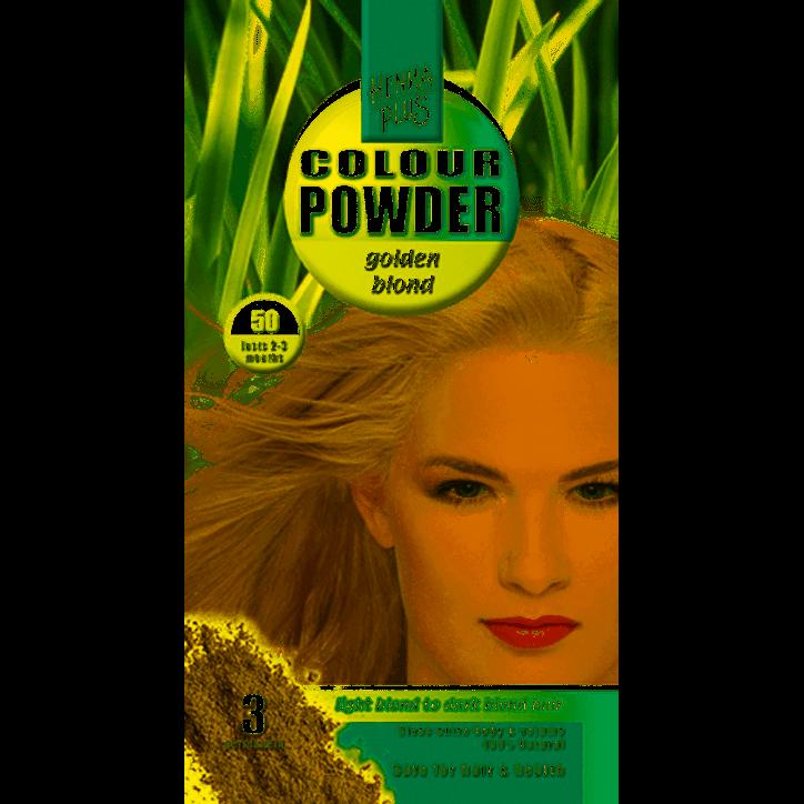 Hennaplus Colour Powder 50 Golden Blond