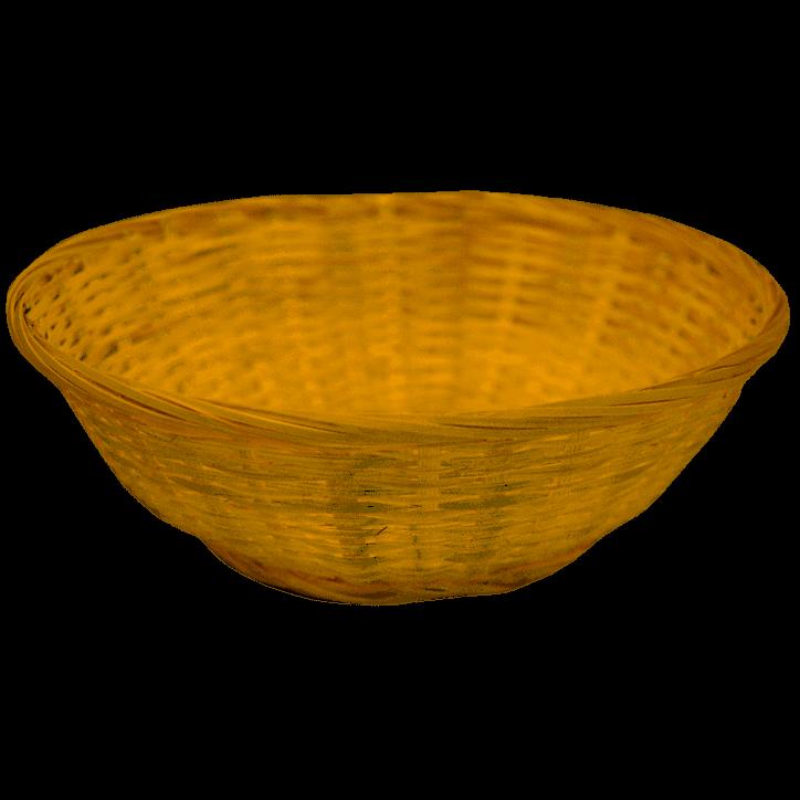 Bamboeschaal Cadeauverpakking 22 cm