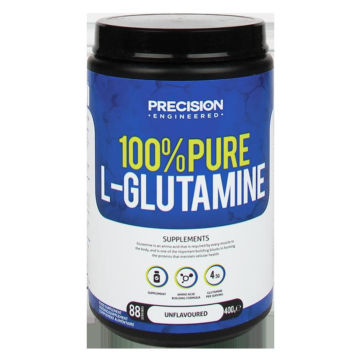 Precision Engineered Pure L-Glutamine Powder 400gr