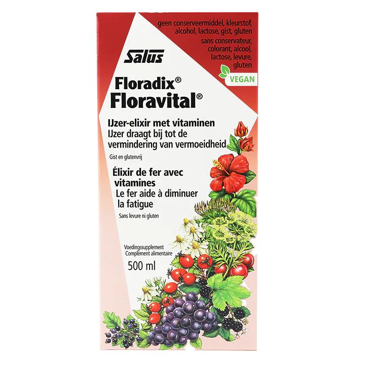 Floradix Floravital Elixer (500ml)