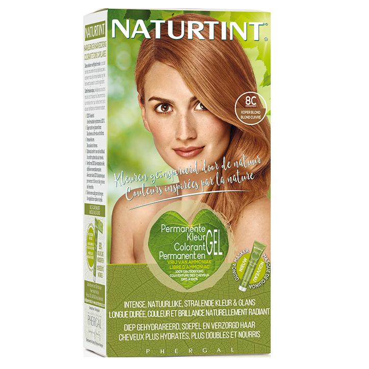 Naturtint Permanent Coloration capillaire 8C Blond cuivré