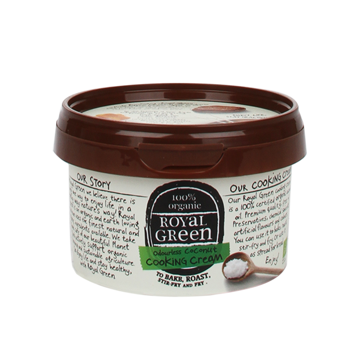 Royal Green Org Coconut Cooking Cream 250ml