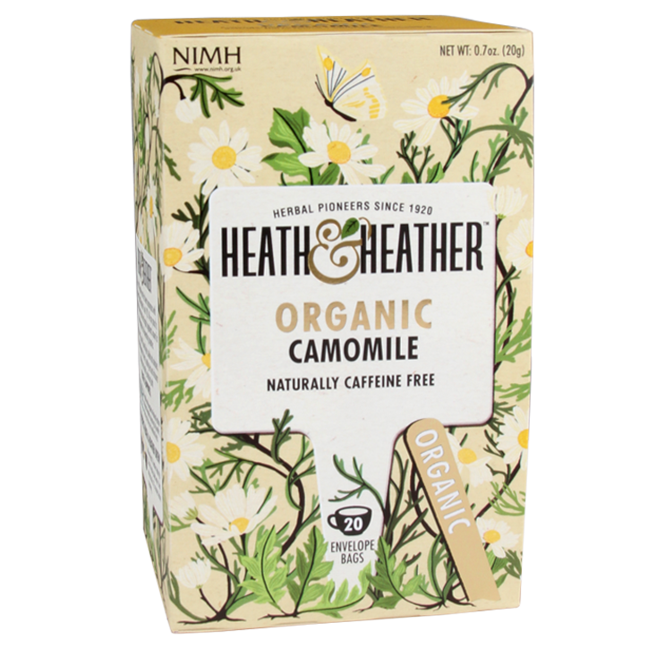 Heath & Heather Camomile Tea Bio (20 Theezakjes)