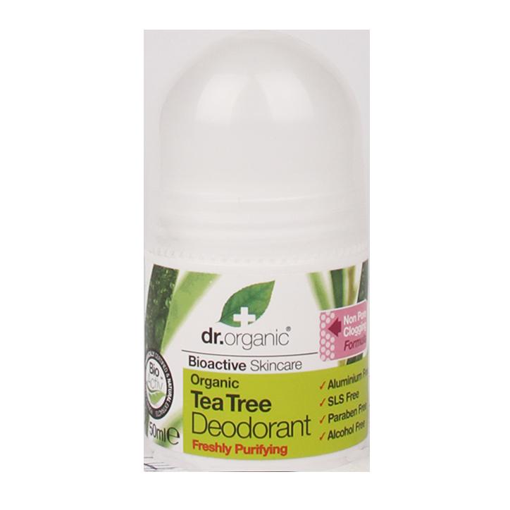 Dr. Organic Tea Tree Deodorant
