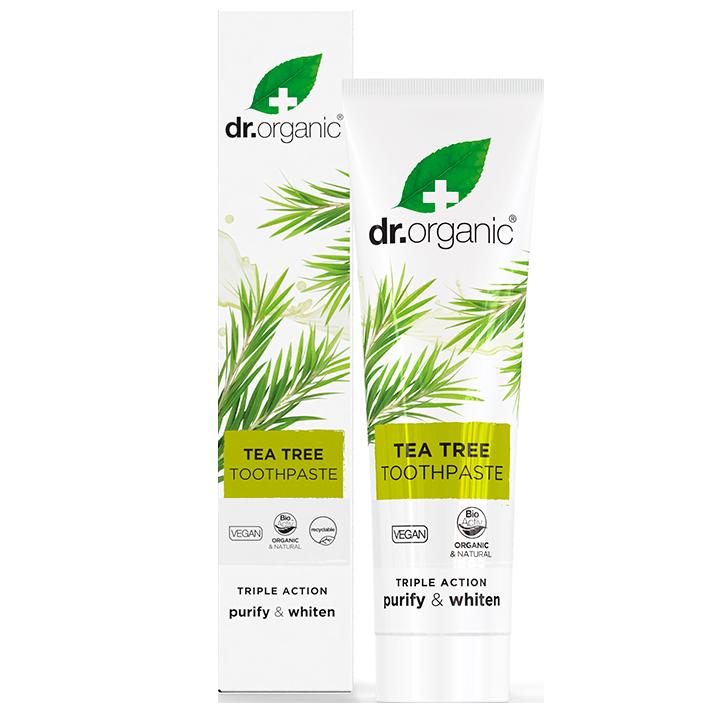 Dr. Organic Tea Tree Tandpasta