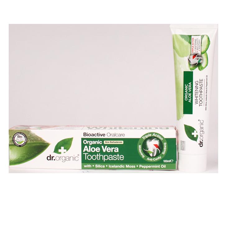 Dr. Organic Aloe Vera Tandpasta