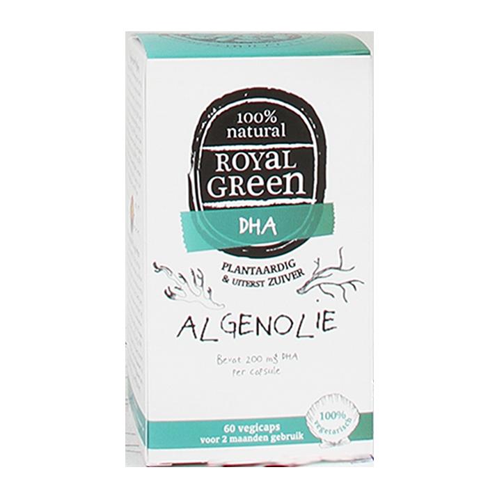 Royal Green Algenolie, 600mg (60 Capsules)