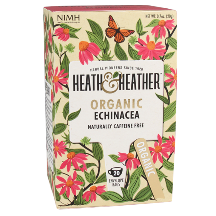Heath & Heather Echinacea Tea Bio (20 Theezakjes)