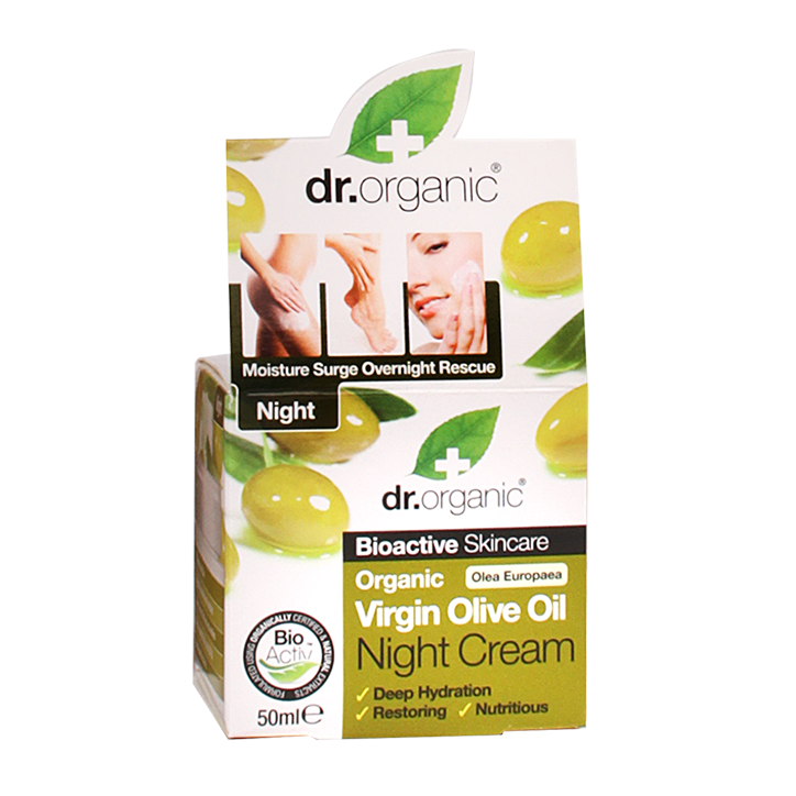 Dr. Organic Olijf Nachtcrème