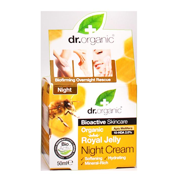 Dr. Organic Royal Jelly Nachtcrème