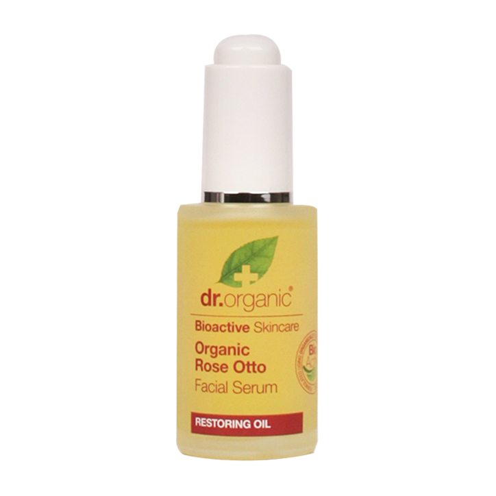 Sérum pour le visage Dr Organic à l'Huile de de rose Otto 15 ml