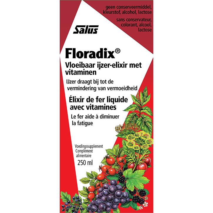 Floradix IJzer-Elixer Met Vitamines (250ml)