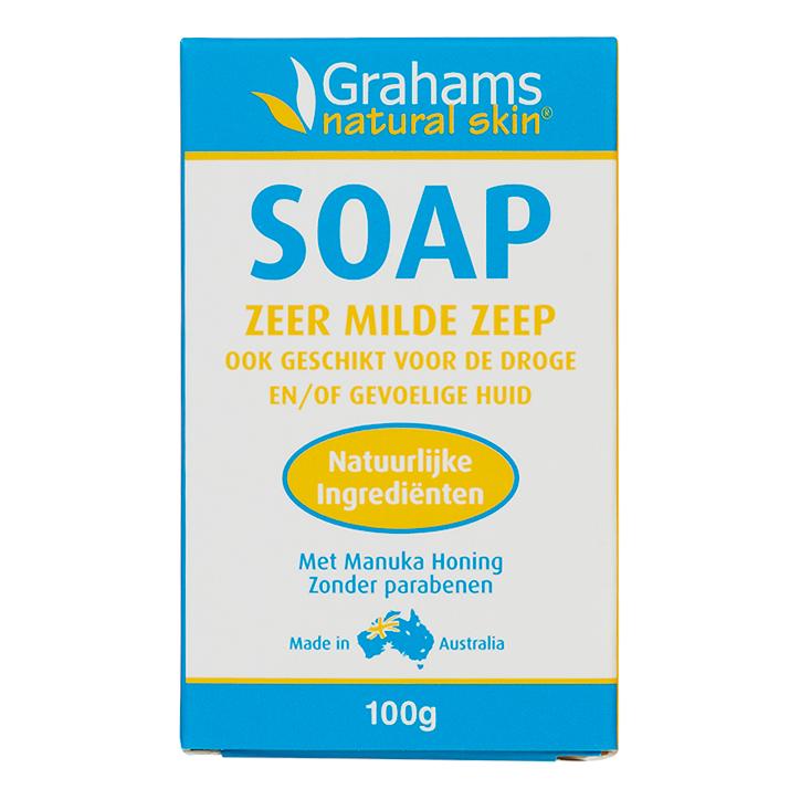 Grahams Natural Soap Manuka Honey