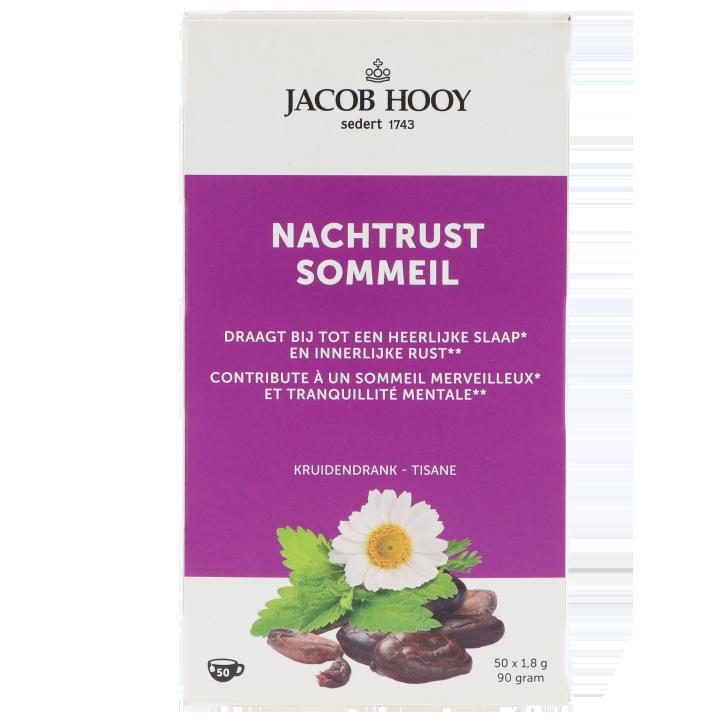 Jacob Hooy Nachtrust Thee (50 Theezakjes)