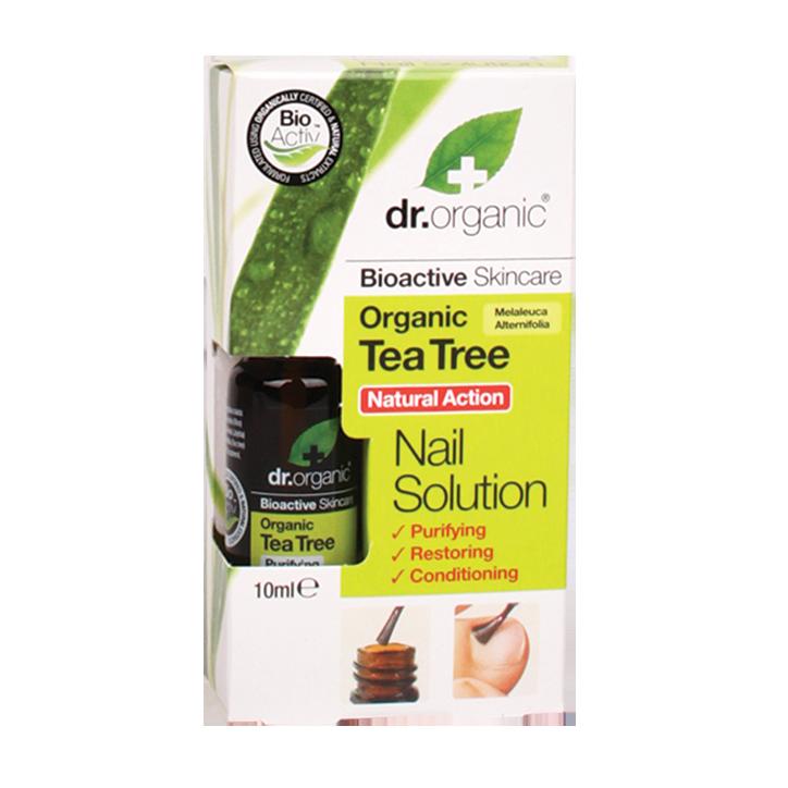 Dr. Organic Tea Tree Nagel Lotion