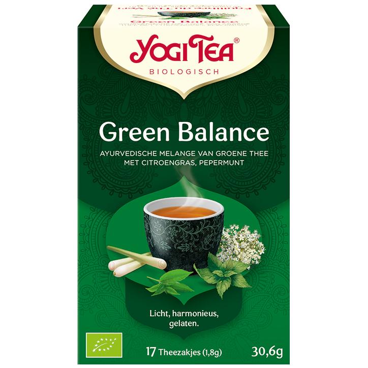 Yogi Tea Green Balance (17 Theezakjes)