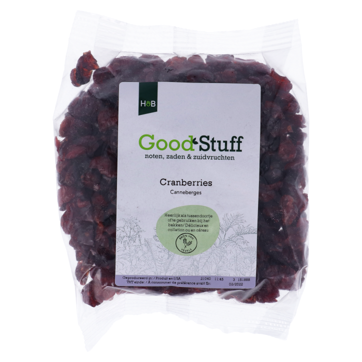 Holland & Barrett Gedroogde Cranberry