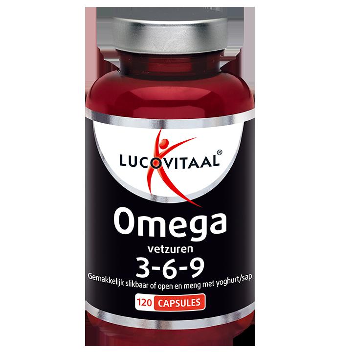 Lucovitaal Omega 3-6-9 X-Tra Sterk (120 Capsules)