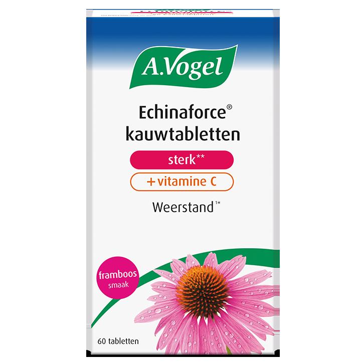 A.Vogel Echinaforce Kauwtablet Met Vit. C  (60 Tabletten)