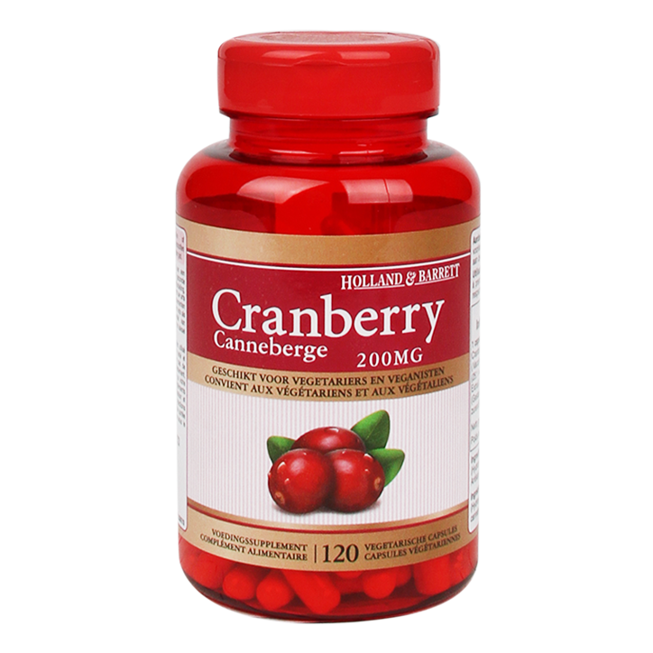 Holland & Barrett Cranberry, 200mg (120 Capsules)