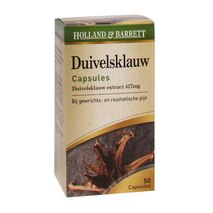 Holland & Barrett Duivelsklauw, 427mg (50 Capsules)