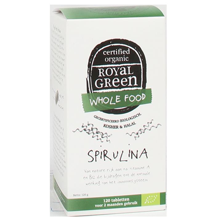 Royal Green Spirulina Bio, 1000mg  (120 Tabletten)