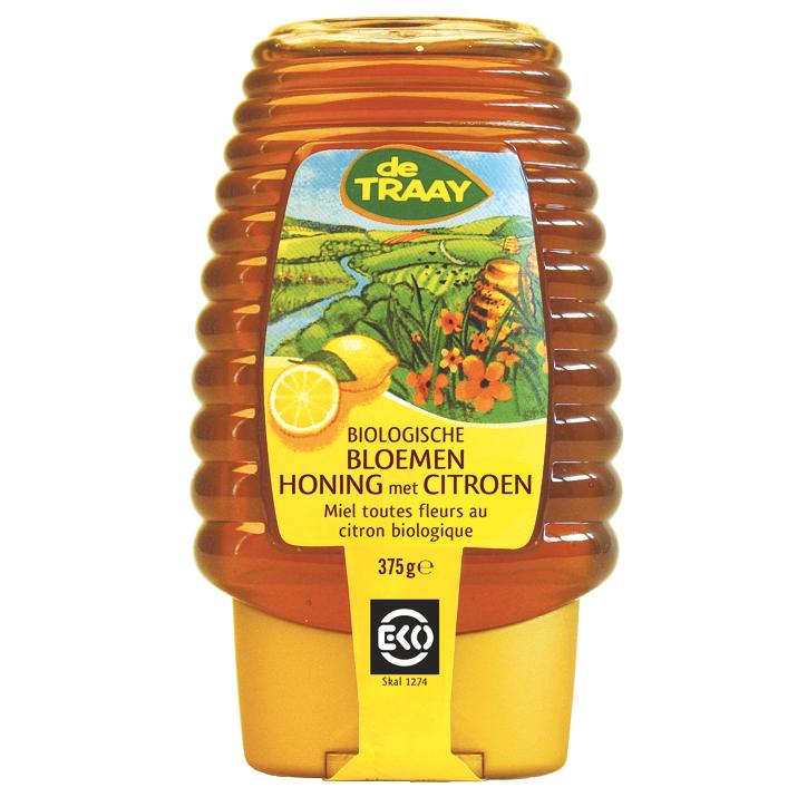 Miellerie De Traay Miel de fleurs citron bio