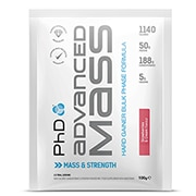 PhD Advanced Mass Powder Strawberries & Cream 12 x 100g