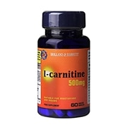Holland & Barrett l-carnitine 60 Caplets 500mg