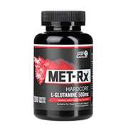 Met-Rx L-Glutamine 500mg 200 Coated Tablets