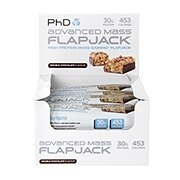PhD Advanced Mass Flapjack Double Chocolate 12 x 120g