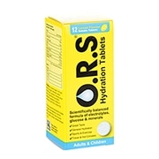 ORS Hydration Lemon 12 Soluble Tablets