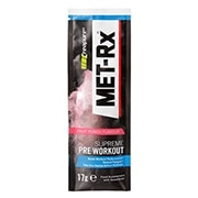 MET-Rx Supreme Pre Workout Powder Fruit Punch 17g