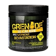Grenade .50 Calibre Pre-Workout Lemon Raid 232g