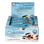 Quest Bar Cookies And Cream 12x60g