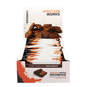 The Protein Works Brownie Choc Hazelnut Indulgence 12 x 40g