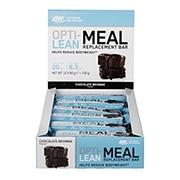 Optimum Nutrition Opti-Lean Meal Replacement Bar Chocolate Brownie 12 x 60g
