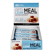Optimum Nutrition Opti-Lean Meal Replacement Bar Salted Caramel 12 x 60g