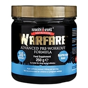 Medi-Evil Warfare Pre-Workout Raspberry Rage 250g